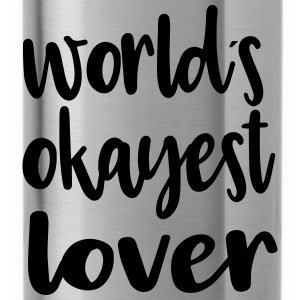 World's okayest lover - Water Bottle