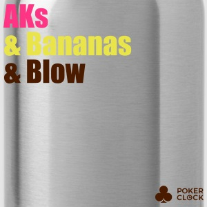 AKs & Bananas & Blow - Water Bottle