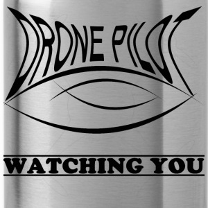 Drone piloot Watching you - Drinkfles