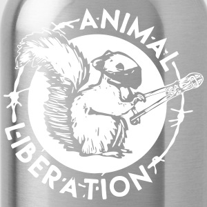 Animal Liberation ekorre - Vattenflaska