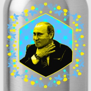Daddy Loves You All! (Putin Portrait) by Ostap - Trinkflasche