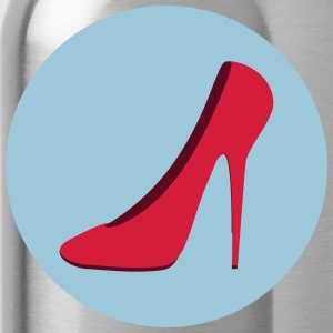 Highheels (Vektor) Deine Farbe / your Color - Trinkflasche