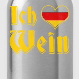 I love wine apres ski Oktoberfest outfit - Water Bottle