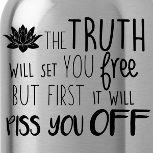 The truth will set you free - Water Bottle