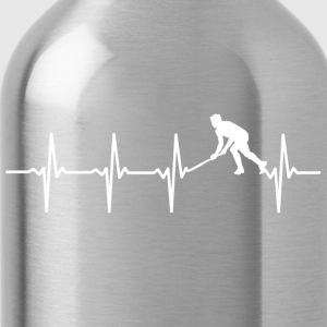 Your heart beats for hockey? - Water Bottle