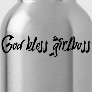 God bless girlboss - Water Bottle