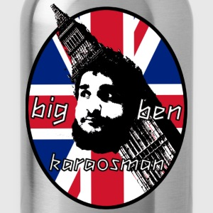BigBen Karaosman Head Design - No Printing On Back - Water Bottle