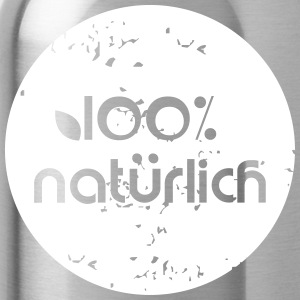 100% Natural - Cantimplora
