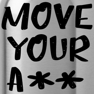 Move your ass - sportief - Drinkfles