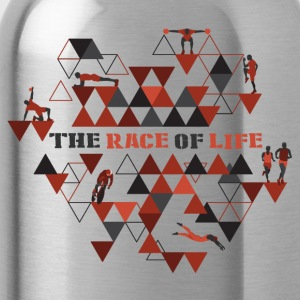 TheRaceOfLife - Trinkflasche
