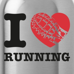 i love running - Water Bottle