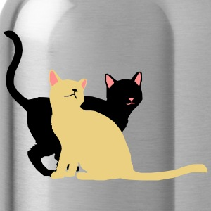 2 cats - Water Bottle