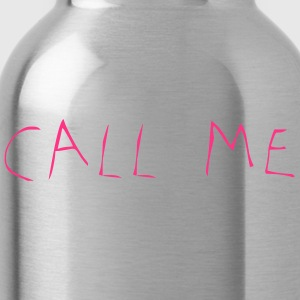 Call Me - Trinkflasche