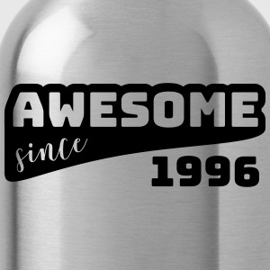Awesome sinds 1996 / Birthday-shirt - Drinkfles