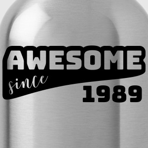 Awesome Sinds 1989 / Birthday-shirt - Drinkfles