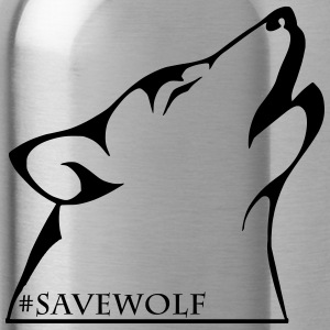 #SaveWolf - Drinkfles
