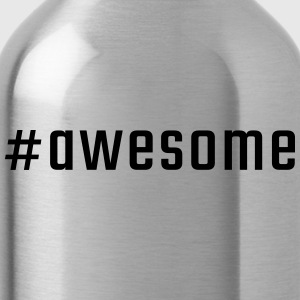 #awesome - Water Bottle