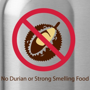 No Durian - Water Bottle