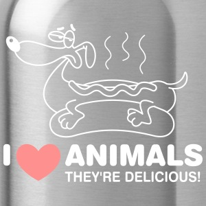 I Love Animals. They Are Absolutely Adorable! - Water Bottle