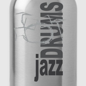Jazz Drums - Water Bottle