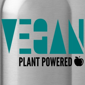 Vegan - Plant Powered - Drikkeflaske