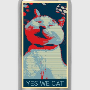 YES WE CAT - Trinkflasche