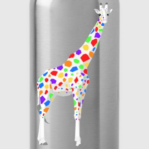 Colorful Giraffe - Trinkflasche