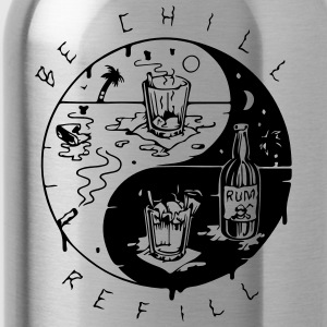 be chill refill ying yang - Trinkflasche