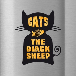 CATS - The Black Sheep - Trinkflasche