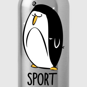 Gymnastics penguin - Water Bottle