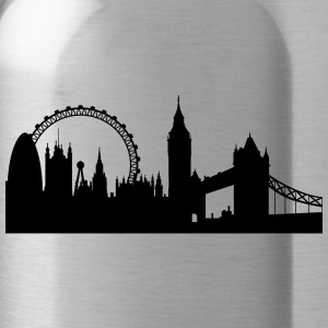 Londres silhouette 2 - Gourde