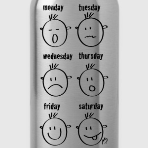 smileys Weekdays - Gourde