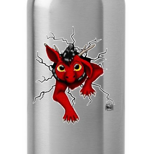 Drachi stuck red schwarzl - Trinkflasche