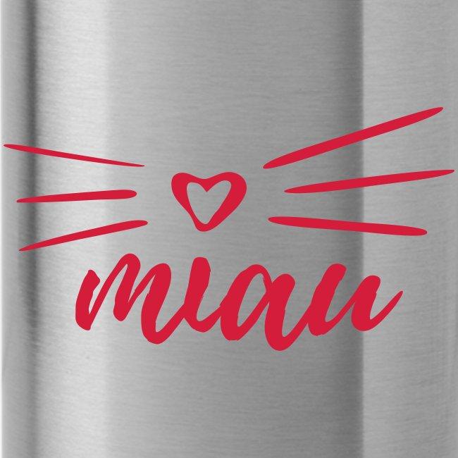 Vorschau: miau - Trinkflasche