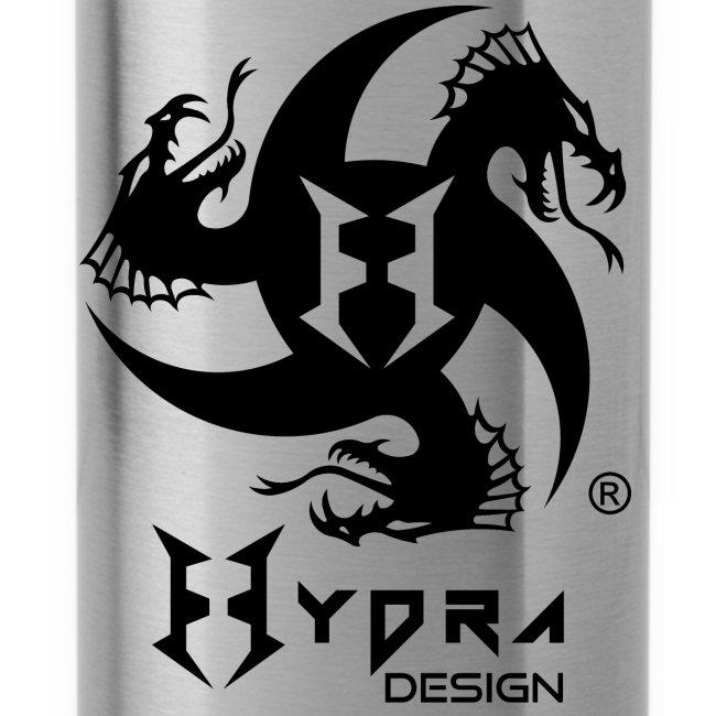 Hydra DESIGN - logo blk