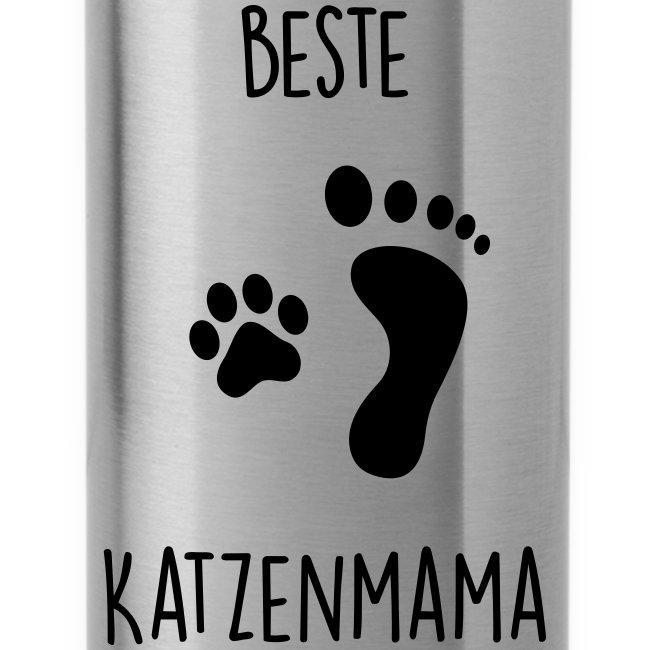Vorschau: Beste Katzenmama - Trinkflasche