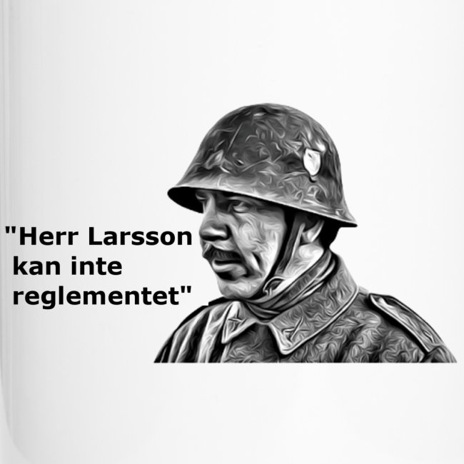 """Herr Larsson kan inte reglementet!"