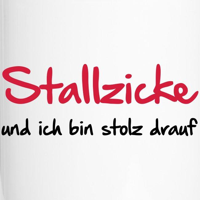 Vorschau: Stallzicke - Thermobecher mit Tragegriff