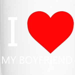 I LOVE MY BOYFRIEND T-SHIRT - Thermo mok