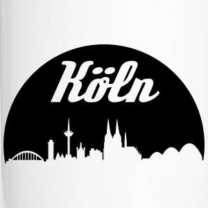 Cologne skyline - Travel Mug