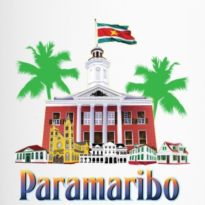 buildings Paramaribo - Travel Mug