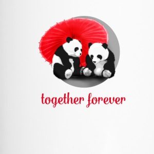 panda love forever Love dab LOL fun cool cute gir - Travel Mug
