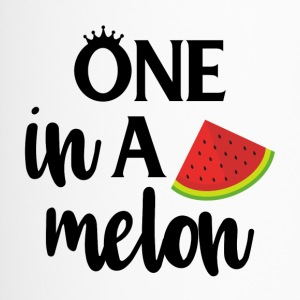 One in a melon - black - Travel Mug