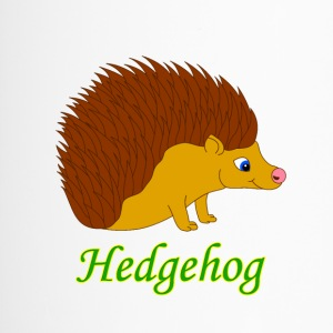 Vektor illustration Hedgehog - Termosmugg