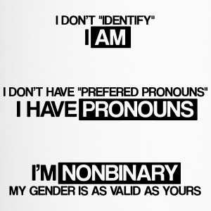 I'm non binary - Travel Mug