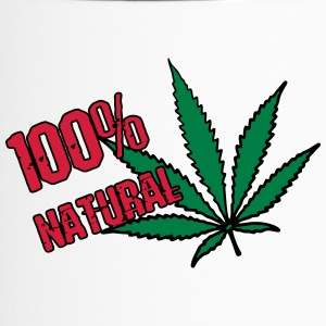 weed - 100% natural hemp - Travel Mug
