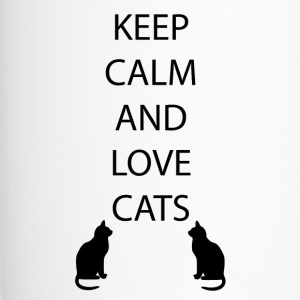 Cats Keep Calm - Thermo mok