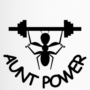 Aunt Power for Bodybuilder - Thermobecher
