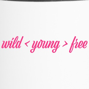wild young free - Thermobecher
