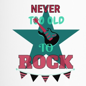 Never too old to rock - Thermobecher
